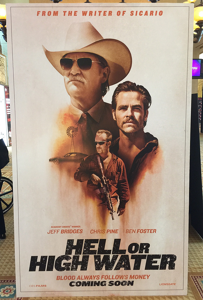 Comancheria Turned Hell Or High Water Nm Film News